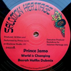 Prince Jamo , Messenger Douglas - World Is Changing , Praise Him - 12""