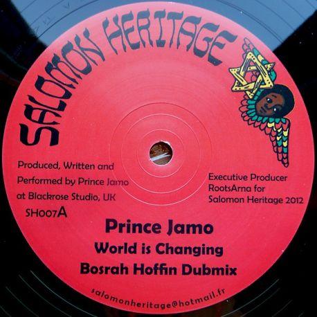 "Prince Jamo , Messenger Douglas - World Is Changing , Praise Him - 12"""