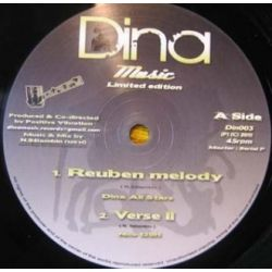 Dina All Stars - Reuben Melody - 10""