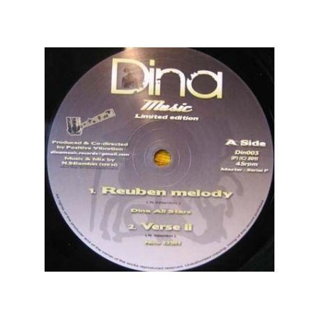 "Dina All Stars - Reuben Melody - 10"""