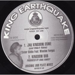 Sister Olidia - Where Were You / Jah Kingdom Come - 10""