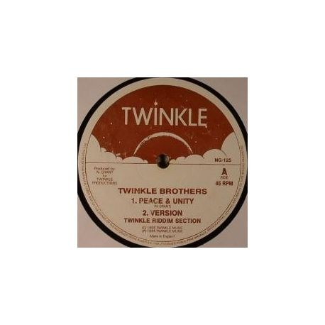 """Twinkle Brothers / Della Grant - Peace & Unity / Our Father - 12"""""""