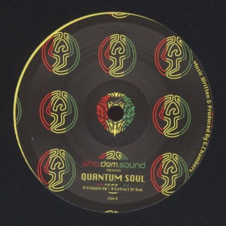 """Quantum Soul - Steppin Up / Extract Of Dub - 10"""""""