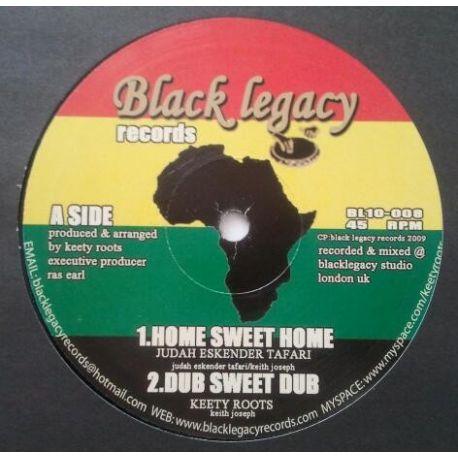 "Judah Eskender Tafari , Keety Roots - Home Sweet Home , No Place Like Home - 10"""