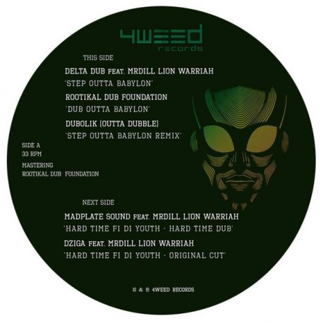 Mr Dill Lion Warriah / Madplate Sound / Rootikal Dub Foundation /  - Step Outta Babylon / Hard Time di Youth - 12""