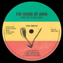 Ras Imru - Tribute To Selassie I - LP