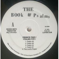 Prince Far I - Psalms For I - LP