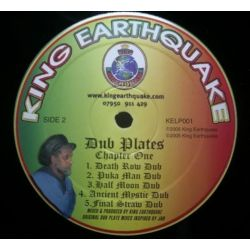 King Earthquake - Earthquake Dub-Plates Chapter One - LP
