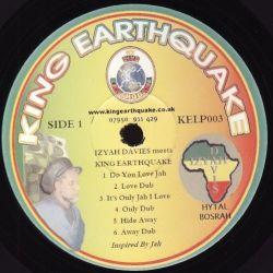 Izyah Davis / King Earthquake - Izyah Davis Meets King Earthquake - LP