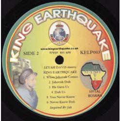 Izyah Davis / King Earthquake - Izyah Davis Meets King Earthquake - LP