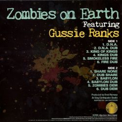 Gussie Ranks - Zombies On Earth - LP