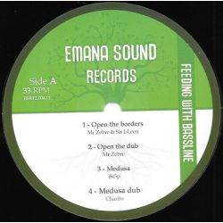 Mr. Zebre / Sis I-Leen / Ist3p /  - Feeding With Bassline  - 12""