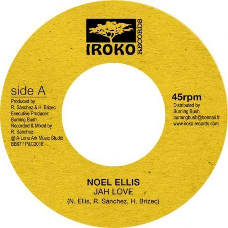"""Noel Ellis - Jah Love - 7"""""""