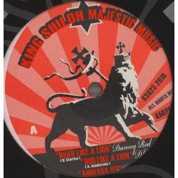 """Danny Red / Nish Wadada - Roar Like A Lion / Wicked Men - 12"""""""