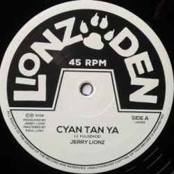 Jerry Lions - Cyan Tan Ya - 10""