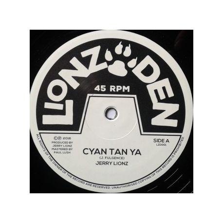 """Jerry Lions - Cyan Tan Ya - 10"""""""