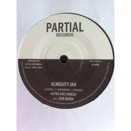 """Alpha & Omega / Dub Judah - Almighty Jah / Almighty Dub - 7"""""""