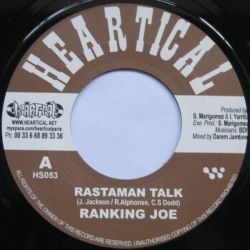 Ranking Joe / Rootsamala - Rastaman Talk / World Crisis - 7""