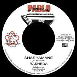 "Sister Rasheda / Augustus Pablo - Shashamane - 7"""