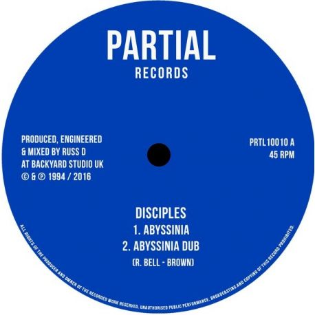 """The Disciples  - Abyssinia / Mabrak - 10"""""""