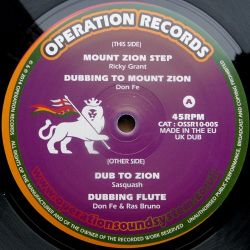 Ricky Grant Meets Don Fe - Mount Zion Step - 10""