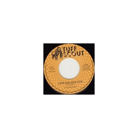 Sandeeno - Love Jah And Live - 7""