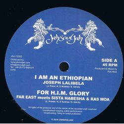 Joseph Lalibela / Fitta Warri - I Am An Ethiopian / Hold Pon Rasta Faith - 12""