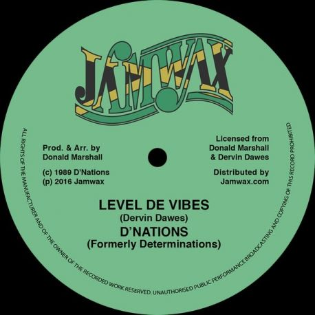 D'Nations - Level De Vibes - 12""