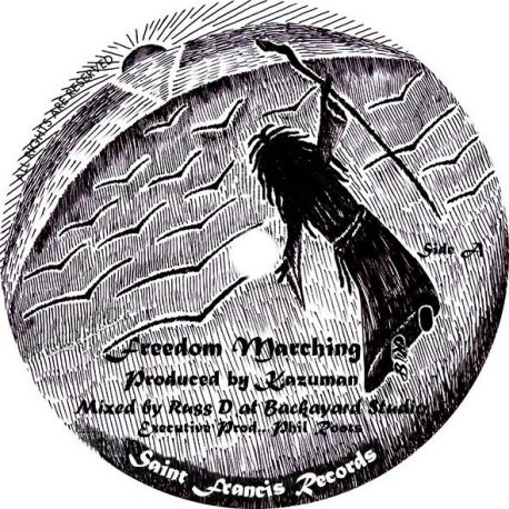 Kazuman - Freedom Marching - 10""