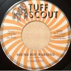 Sandeeno - Sound Boy Warning - 7""