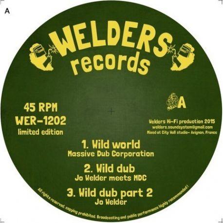 "Massive Dub Corporation - Wild World - 12"""