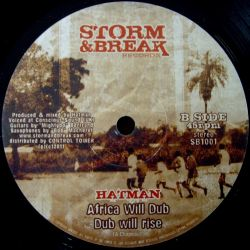 Reality Souljahs , Hatman - Africa Will Rise - 10""