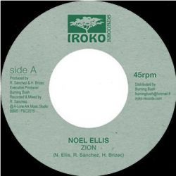 "Noel Ellis - Zion - 7"""