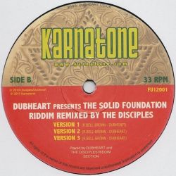 Dubheart - The Solid Foundation Riddim - 12""