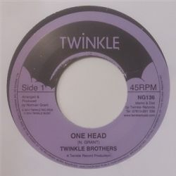 Twinkle Brothers - One Head - 7""