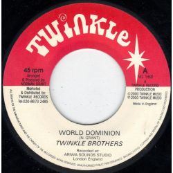 """Twinkle Brothers - World Dominion - 7"""""""