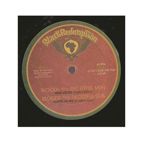 Fred Locks - Bloody And Deceitful Men - 10""