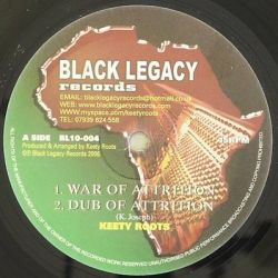 """Keety Roots - War Of Attrition , Solid Rock - 10"""""""