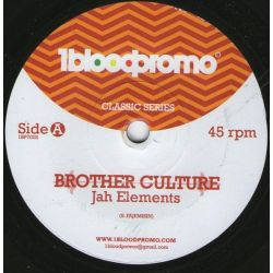 Brother Culture - Jah Elements - 7""