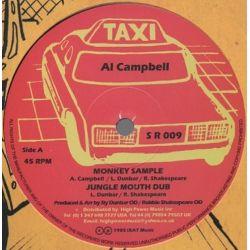 "Al Campbell / Linval Thompson - Monkey Sample / Halla Them A Halla - 12"""