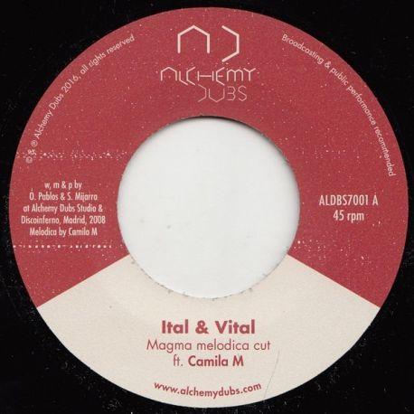 "Ital & Vital / Camila M / Ital & Vital - Magma Melodica Cut - 7"""