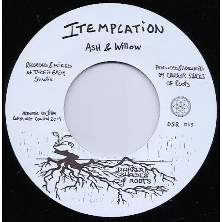 Ash & Willow / Ras Ico / The Shades  - Itemplation / Like The Raindrops - 7""