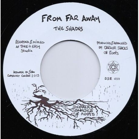 The Shades  - From Far Away / Trials In Kurdistan - 7""