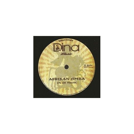 "Afrikan Simba / Ras Mykha - In Di Music / Traders - 12"""