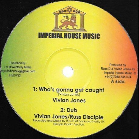 "Vivian Jones / Asante Amen -  Who's Gonna Get Caught / Forgive - 10"""