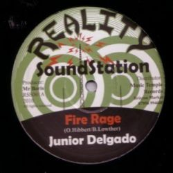 Junior Delgado - Fire Rage - 12""