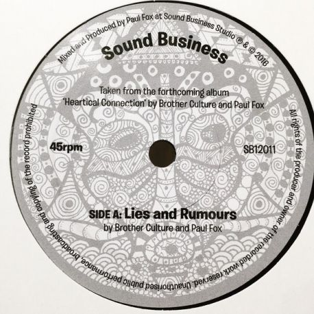 Brother Culture / Paul Fox  - Lies and Rumours - 7""