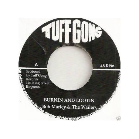 Bob Marley & The Wailers - Burnin And Lootin - 7""