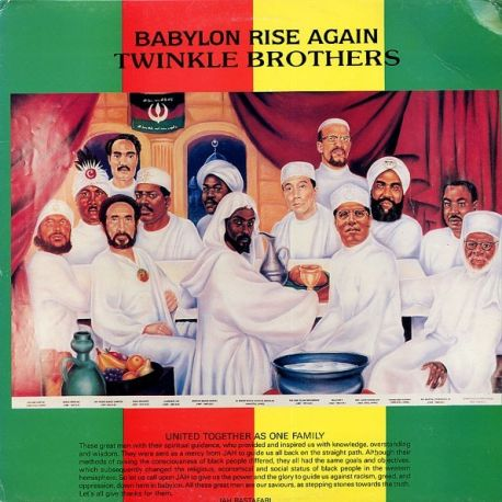 Twinkle Brothers - Babylon Rise Again - LP