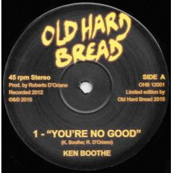 "Ken Boothe / Napoli Rockers Syndicate - You're No Good - 12"""